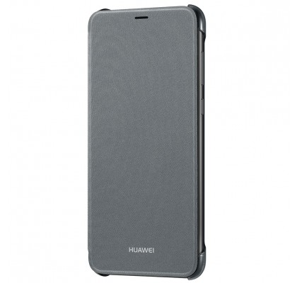 Husa Flip Wallet  pentru Huawei P Smart, Black