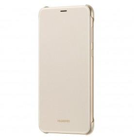 Husa Flip Wallet  pentru Huawei P Smart, Gold