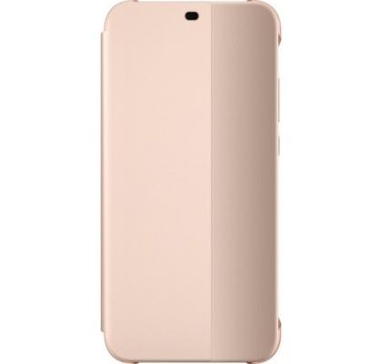 Husa Flip Cover Huawei pentru P20 Lite, Pink