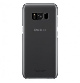 Husa Protective Cover Clear Samsung Galaxy S8, Black
