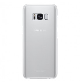 Husa Protective Cover Clear Samsung Galaxy S8, Silver