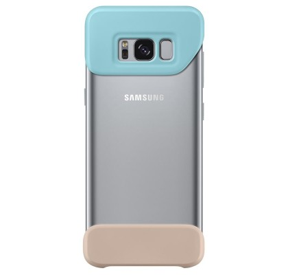 Husa 2 Piece Cover Samsung Galaxy S8 G950, Mint si Brown