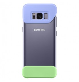 Husa 2 Piece Cover Samsung Galaxy S8 Plus G955, Violet si Green