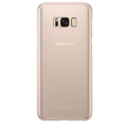 Husa Protective Cover Clear Samsung Galaxy S8 Plus, Pink