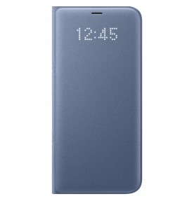 Husa LED View Cover pentru Samsung Galaxy S8 Plus, Blue