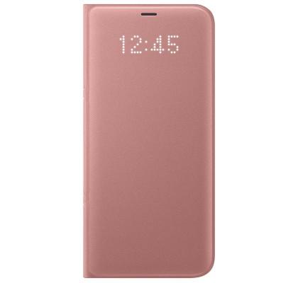 Husa LED View Cover pentru Samsung Galaxy S8 Plus, Pink