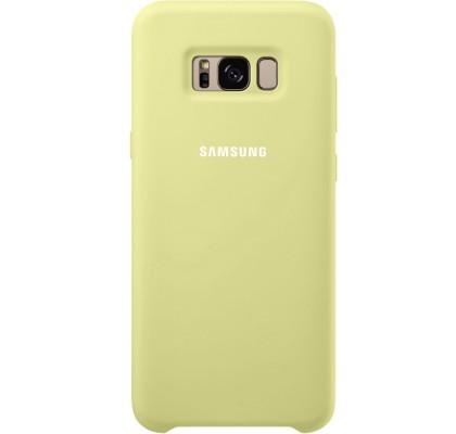 Husa Silicone Cover pentru Samsung Galaxy S8 Plus, Green