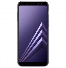 Telefon mobil Samsung Galaxy A8 (2018), Dual SIM, 32GB, 4G, Orchid Gray