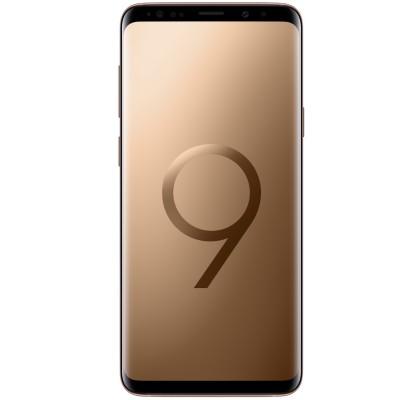 Telefon mobil Samsung G965 Galaxy S9 Plus, Dual SIM, 64GB, LTE, Sunrise Gold