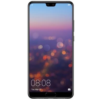 Telefon mobil Huawei P20, Dual Sim, LTE, 128GB, Black