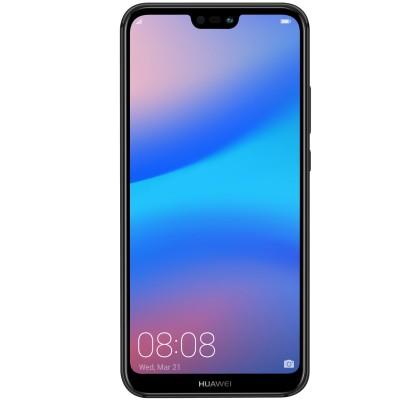 Telefon mobil Huawei P20 Lite, Dual Sim, 64GB, LTE, Midnight Black